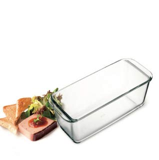 "Simax Glassware Classic Loaf Dish | Heat, Cold and Shock-Proof Borosilicate Glass, Made in Europe, Dishwasher Safe, 11"" x 4.8"" x 3"""