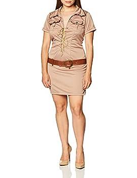 Secret Wishes Womens Tarzan Hunter Jane Costume Khaki Small