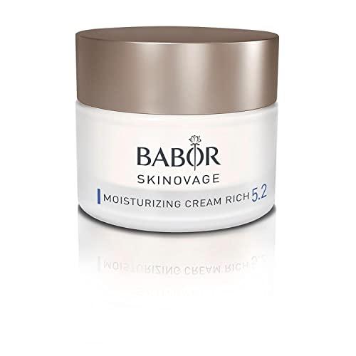 BABOR SKINOVAGE Moisturizing Cream Rich, Reichhaltige Gesichtscreme für trockene Haut, Intensive...
