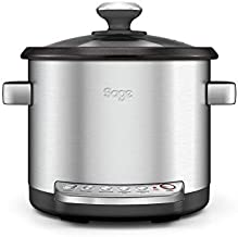 SAGE SRC600 the Risotto Plus, Rijstkokers, Brushed Stainless Steel