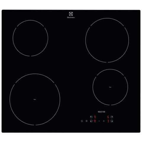 Piano cottura in vetroceramica ad Induzione da 60 cm, N° 4 Fuochi