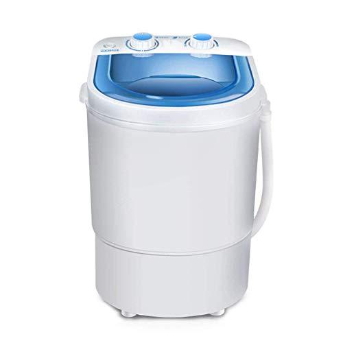 Wghz Mini lavadoras, Lavadora portátil semiautomática, Cargador Superior con función de Eslinga, Lavadora-Secadora compacta con Bomba de Drenaje, Ahorro de energía y Agua, Temporizador, para apar