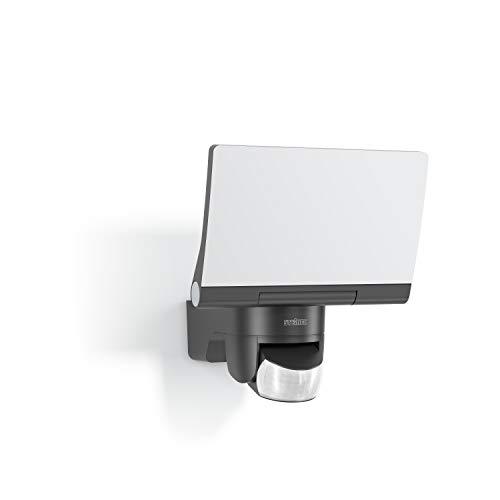 Steinel LED Projektor XLED Home 2 Graphit, um 180 ° schwenkbar, Leistung 14 W, Bewegungsmelder 140 °, Reichweite 14m [Energieklasse A ++]