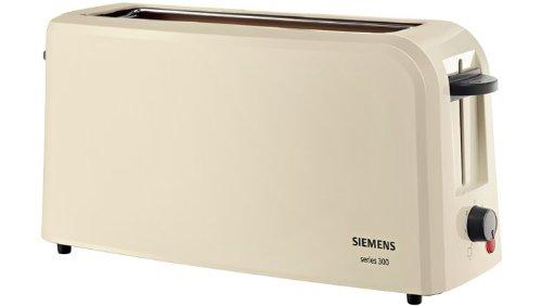 Siemens TT3A0007 Langschlitz Toaster Series 300, creme