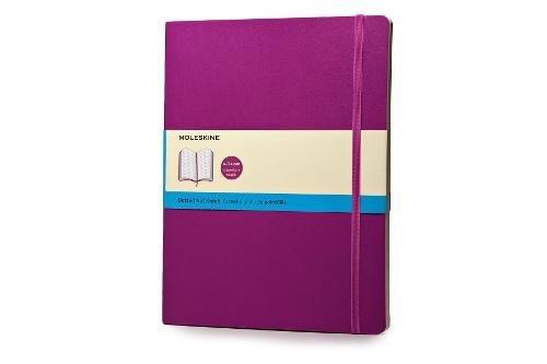 Moleskine Notizbuch, Xlarge, Punktraster, Soft Cover, Orchidee
