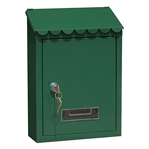 Buzones de metal con llave al aire libre Caja de correo montada...