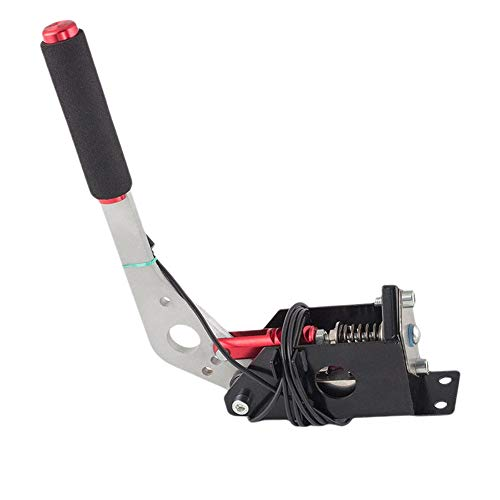 Frein à main USB SIM avec collier de serrage pour jeux de course G25 G29 T500, frein à main universel pour SIM Racing, compatible avec les systèmes PC/Windows uniquement