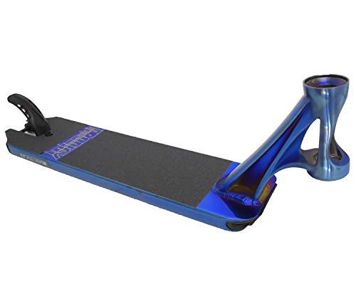 Blunt Prodigy S8 Stunt-Scooter Deck mit Griptape Blau Chrome (Burnpipe)