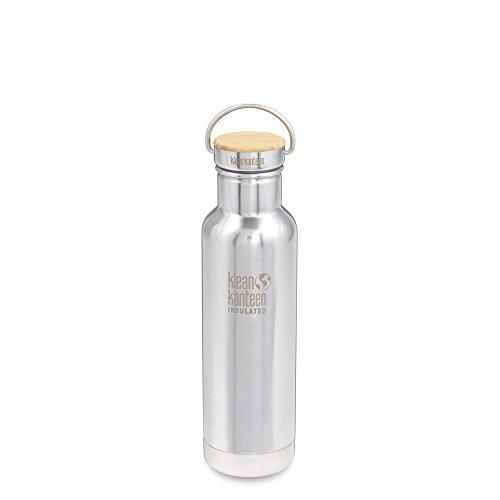 Klean Kanteen Bouteille d'eau isotherme Reflect - En acier inoxydable - Effet miroir - 600 ml