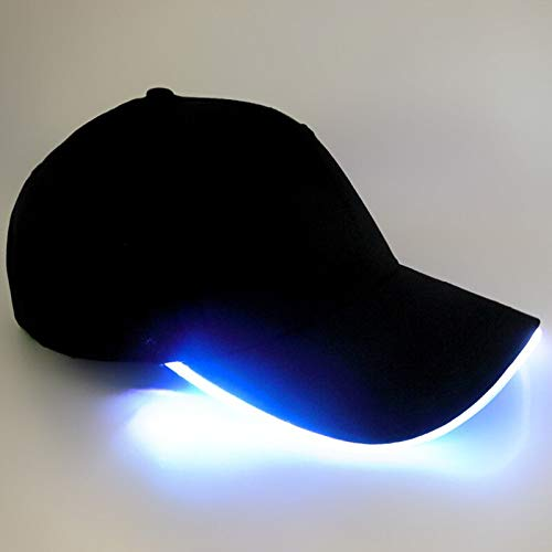 GorrasDeHombre Sombreros Sombrero Iluminado Led Mujer Gorra De Béisbol Hip Hop Algodón...