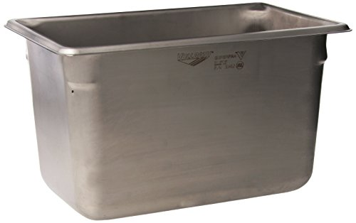 """Vollrath 6"""" Deep Super Pan V Stainless Steel Fourth-Size Steam Table Pan"""