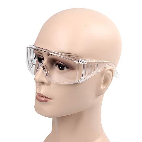 Lot de 3 lunettes de sécurité anti-virus transparentes...