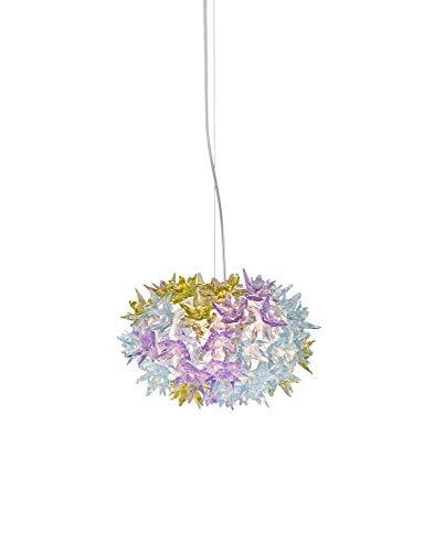 Kartell Bloom S2 Lampada a Sospensione G9, Viola (Lavanda), Ø 28 H19 H min÷max: 29÷219 cm