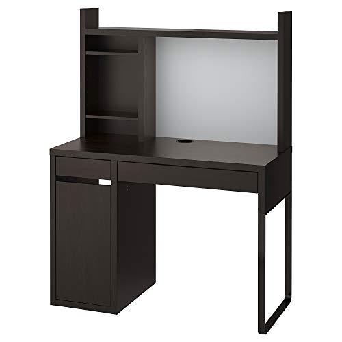 Escritorio MICKE 105x50x140 cm negro-marrón