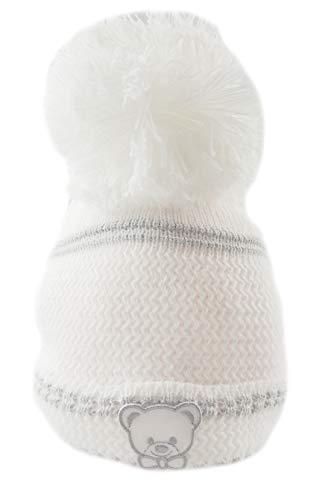 Magnifique chapeau à pompon pour bébé fille garçon