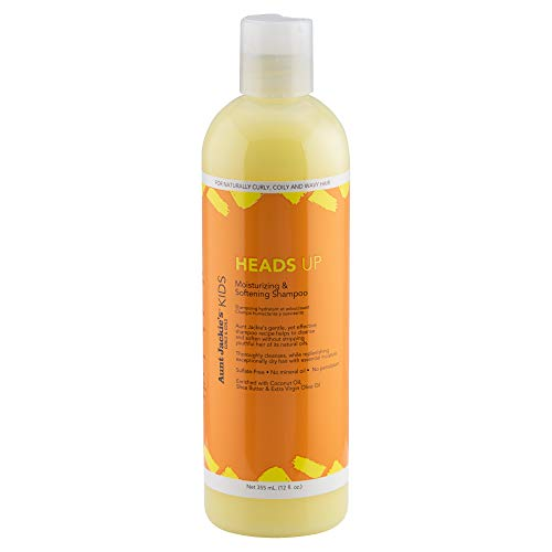 Aunt Jackies Girls Heads Up Moisturizing and Softening Shampoo by Aunt Jackies