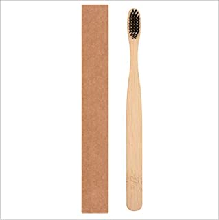 Bamboo Toothbrush Made from Natural Wooden