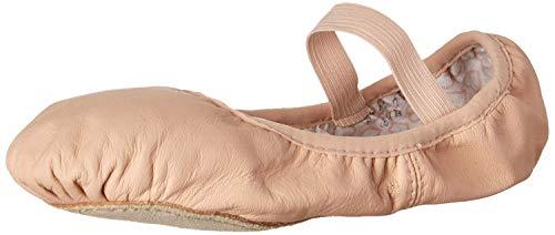 Bloch Dance Women's Belle Full-Sole Leather Ballet Shoe/Slipper, Pink, 5