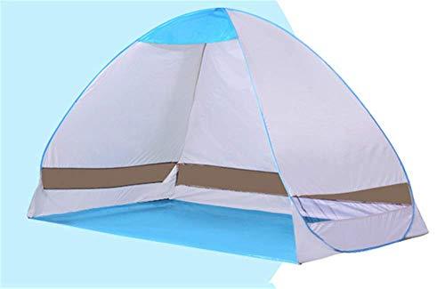 BJLWTQ Tienda de campaña, Playa Tentfully automático rápido Simple Apertura al Aire Libre Sun refugios de protección Infantil Pesca Dobles