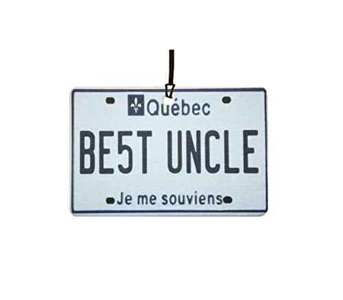 Ali Air Freshener Quebec - Best Uncle Nummernschild Auto Lufterfrischer