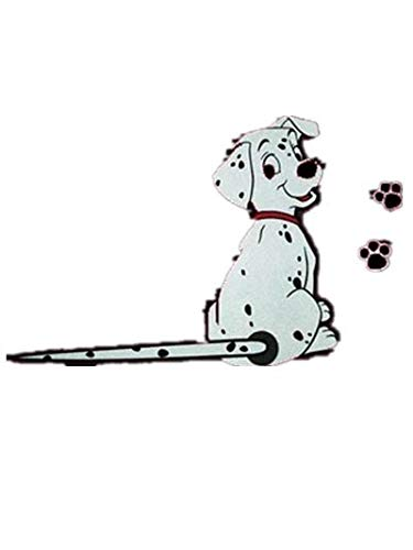YONGYAO 3D-Autoaufkleber Cartoon-Hund Bewegliche Heckscheibe Wiper Reflektierende Abziehbilder