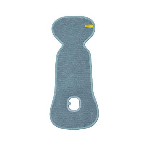 AEROMOOV Air Layer Sitzeinlage - verhindert, dass Ihr Kind schwitzt - Bio Baumwolle - Gr 0 - Mint