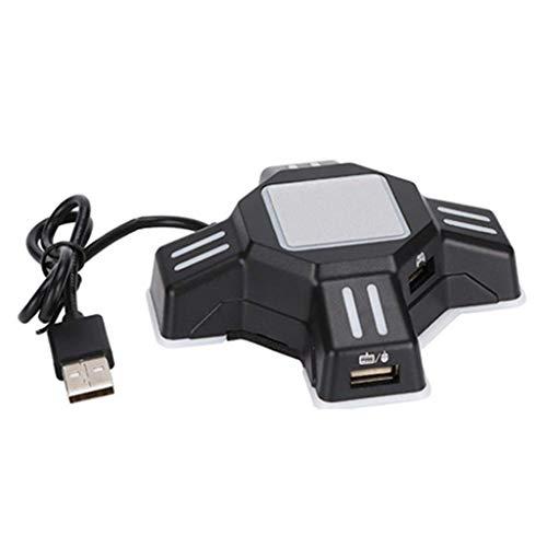 Shefii PUBG - Juego de adaptadores para teclado y ratón para PS4 PS3 Switch PC