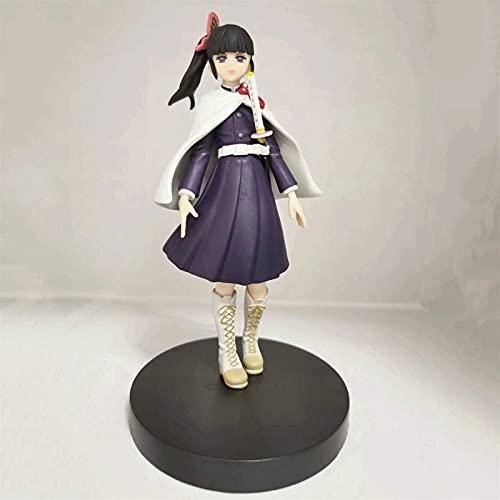 GOXJNG Figura de Acción Anime Anime Figure Demon Slayer Figura de acción Tsuyuri Kanao 18 cm Q Versión Estatuilla Colección Decoración Modelo Estatua Niños Juguetes Doll Regalo (Color : B)