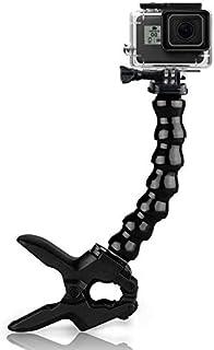 Topmener Flex clamp para cámaras de acción Pinza de Montaje con Abrazadera Soporte para GoPro Hero5/Session/Hero 4/3+/ 3 SJCAM SJ4000 Sony X1000VR Garmin Virb XE Xiaomi Yi