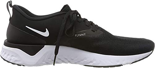 Nike Herren Odyssey React 2 Flyknit Laufschuhe, Schwarz (Black/White 010), 43 EU (8.5 UK)