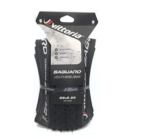 Vittoria Saguaro TLR Cubierta de Ciclismo, Adultos Unisex, Negro, 29x2.25
