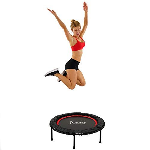 Sunny Health & Fitness - Fitness-Trampoline in Schwarz, Größe Einheitsgröße
