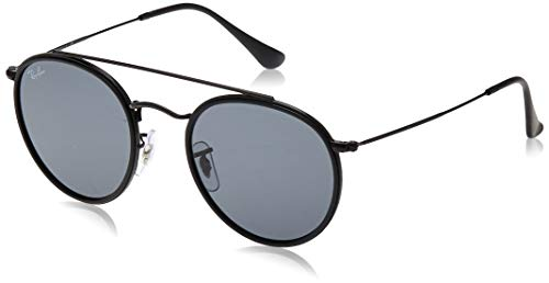 Ray-Ban Rb 3647N Occhiali da sole, Nero (Black), 51 mm Unisex-Adulto