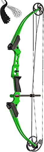 Brennan Industries 12282 Genesis Mini Green Right Hunting Youth Compound Bow