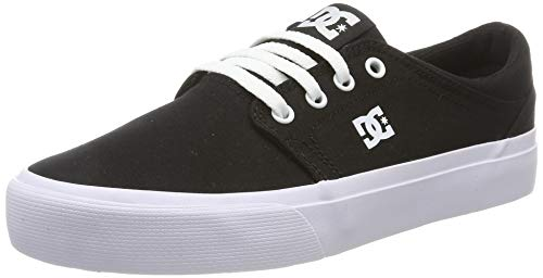 DC Shoes Damen Trase Tx - Low-top Shoes for Women Sneaker, Black/White/Black, 40 EU