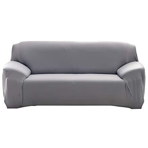 Oumefar Juego de Funda de sofá Todo Incluido Estilo Europeo Respetuoso con la Piel Lavable a máquina(Three Persons 190-230cm)