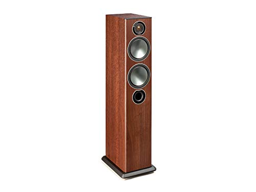 Monitor Audio Bronze 5 Standlautsprecher, Farbe: Walnut, 1 Paar