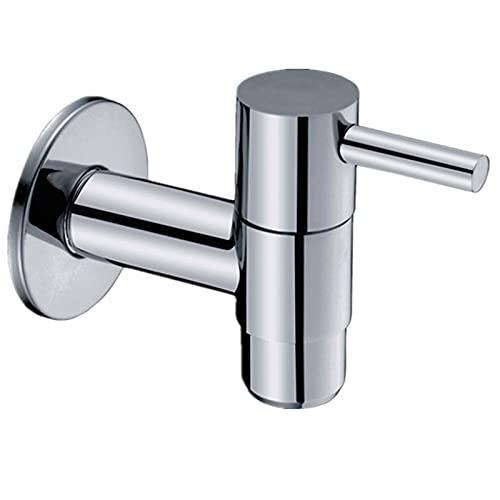 Einhebel-Wandarmatur Kaltwasser Bad Wc Waschbecken Badewanne Messing Armaturen Zerstäubter Wasserhahn