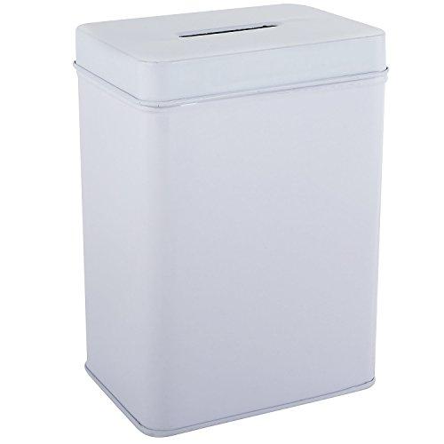 My Charity Boxes-Scatola di latta, alla donazione ente può-Money-Salvadanaio a forma di maialino può-Pack da 2