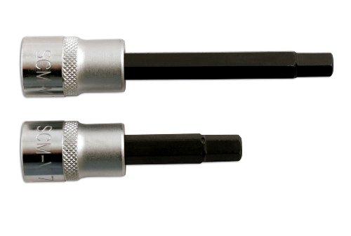 Laser 5137 Lot de 2 embouts de clés Allen pour étriers de frein 7 mm