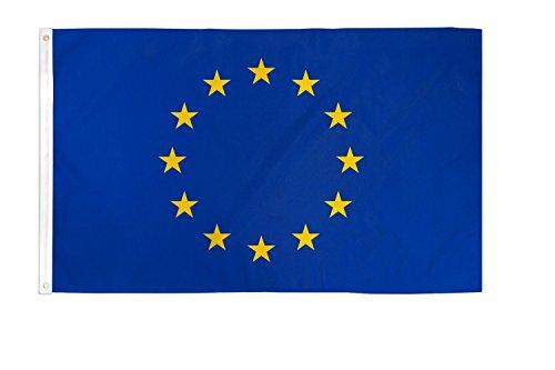 Países bandera 90x 150cm Abasonic®, Europa