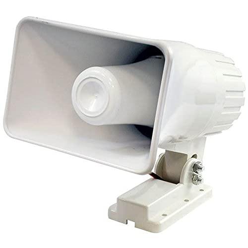 Pyle PHSP4 6 Inch 50 Watt Indoor/Outdoor Waterproof Home PA Horn...