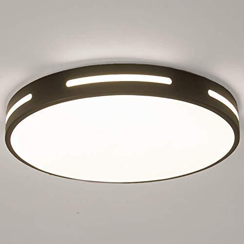 Kimjo Lamparas de Techo 30W Blanco Frío, Plafon LED de Techo Moderna...