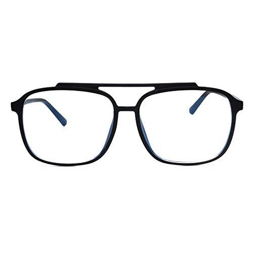 Gims – Gafas de descanso con filtro de luz azul – Hombre mujer – Cristales antirreflejos 100 % UV – Especial pantalla ordenador, ordenador, juego – Anti fatiga, protección de luz azul