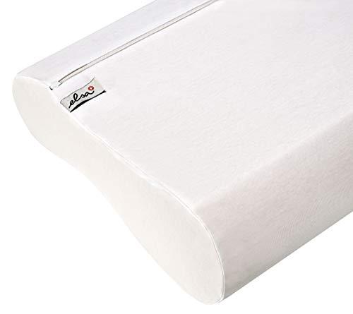 ELSA Gesundheitskissen und Matratze Ersatzbezug 50/9 cm Baumwolle weiß