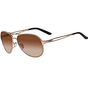Oakley Caveat Women's Sunglasses – Rose Gold/VR50 Brown Gradient