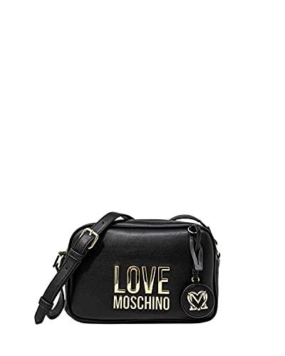 Love Moschino, Borsetta da Donna, Pre Collezione Autunno Inverno 2021, Nero, Taglia unica