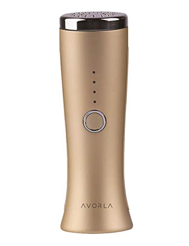 FDA Cleared L E D Facial Massager-Avorla Skin Rejuvenation Wand-At-Home Anti-Aging Skin Care Device-Facial Toning-Massager-Firm & Tighten Skin Wrinkles- Face Mask Treatment