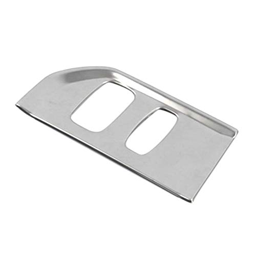 Shutters Dispositivo de Encendido de Coche Llavero Marco DE Agujero ADIMIENTO Ajuste para Volvo XC60 2012-2017 (Color : Silver)