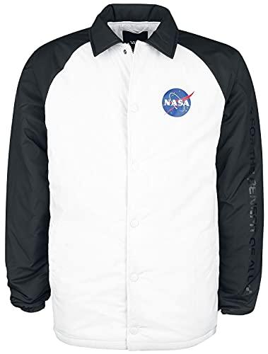 Vans NASA Space Voyager Torrey Padded MTE Veste mi-saison blanc/noir S, 52 % nylon, 48 % polyester,